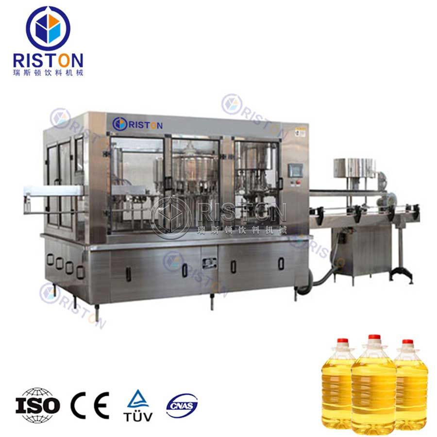 Automatic Rotary Type Edible Oil Filling Machine