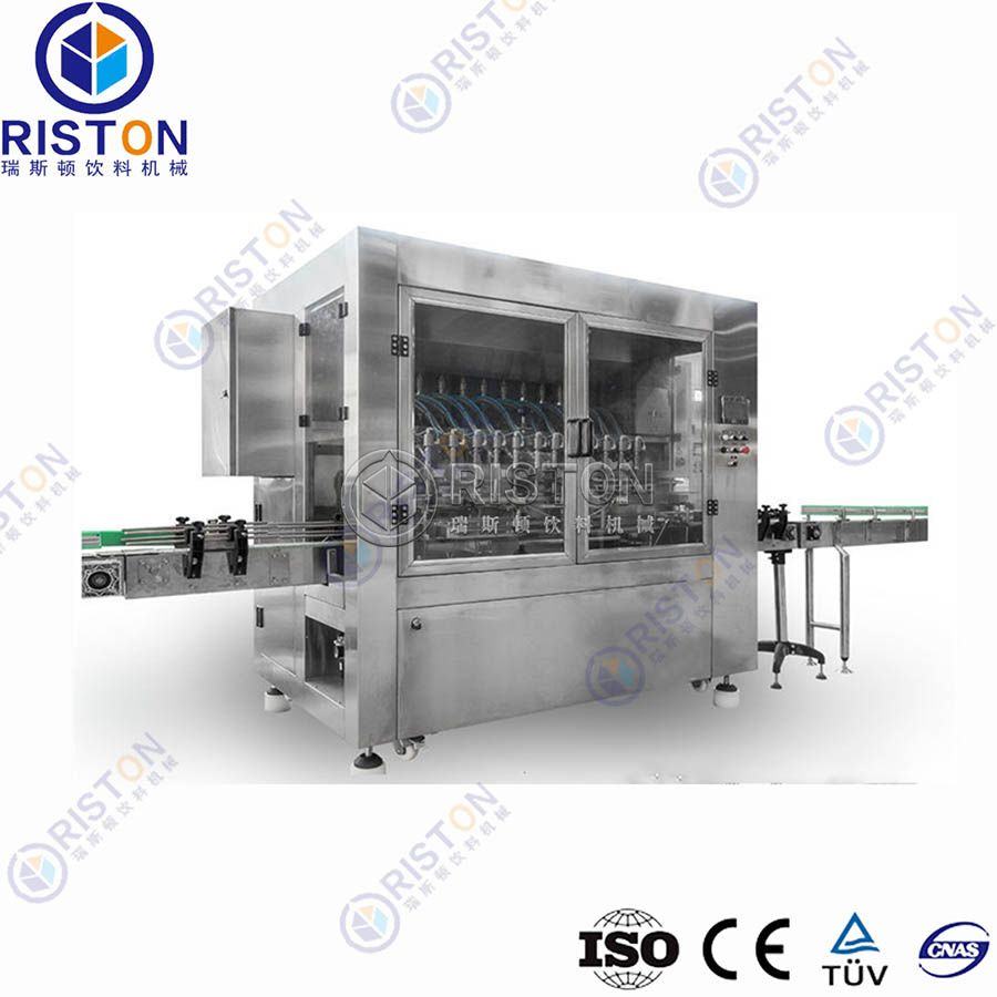 Automatic Linear Type Edible Oil Filling Production Line Price