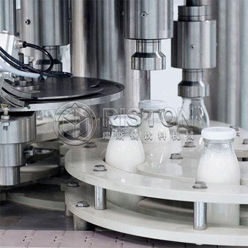Dairy Products Glass Bottle Filling Machine